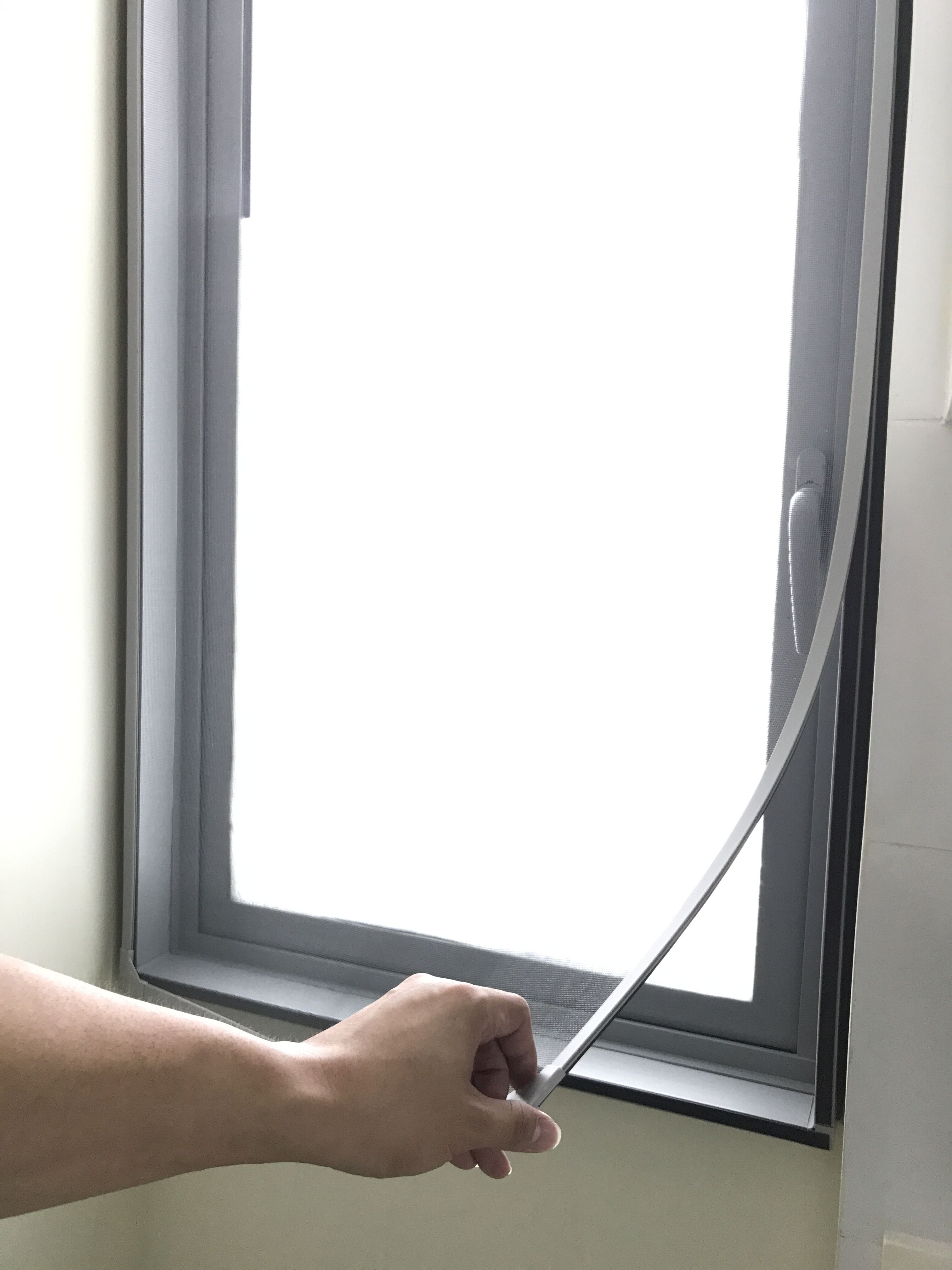 DIY MAGNETIC INSECT SCREEN - Mazer Screen